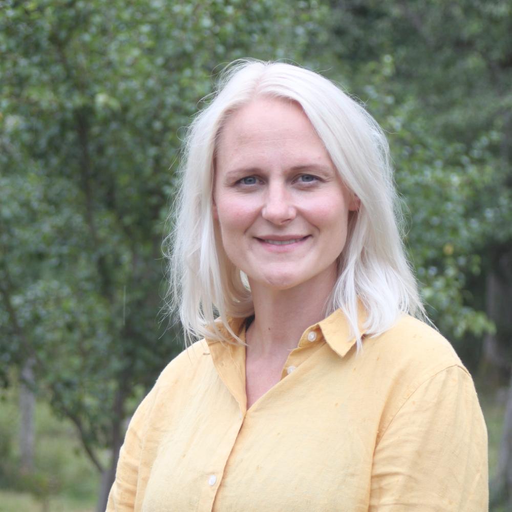 Marie Grönvold i styrelsen för Ängavången Ekgolv